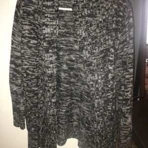 black and white cardigan from charlotte russe